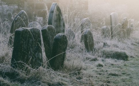 Warwickshire Winter Morning Churchyard