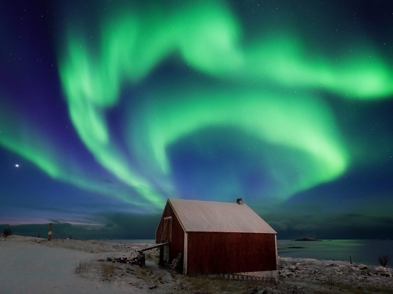 arctic photography workshop and northern lights watching