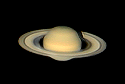 Photographing Saturn
