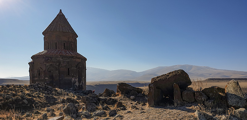 TURKEY: ANI excavation site -Church of Saint Gregory