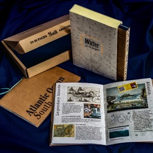 SAIL - 2 traveljournals and a memory game