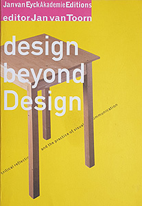 Design beyond design by Jan van TOORN
