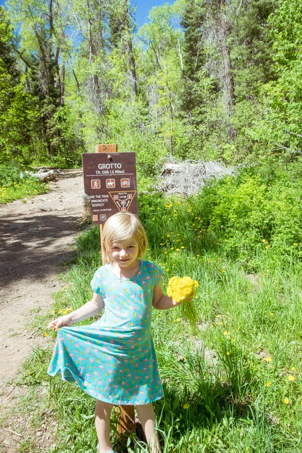 grotto trail payson canyon