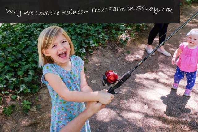 review of rainbow trout farm in sandy, oregon