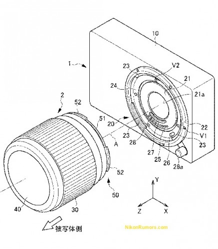Nikon 10-100mm f/4.5-5.6 VR Lens Patent Could Be For New