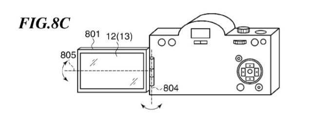 Canon Patent Shows Off DSLR Touchscreen & Built-in WiFi