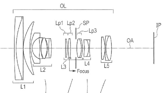 Canon Patent Application Shows EF-S 15-55mm f/2.8-4 and EF