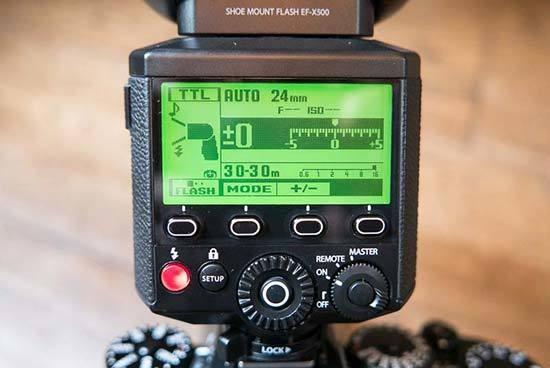 Fujifilm EFX500 Flashgun Handson Photos  Photography Blog