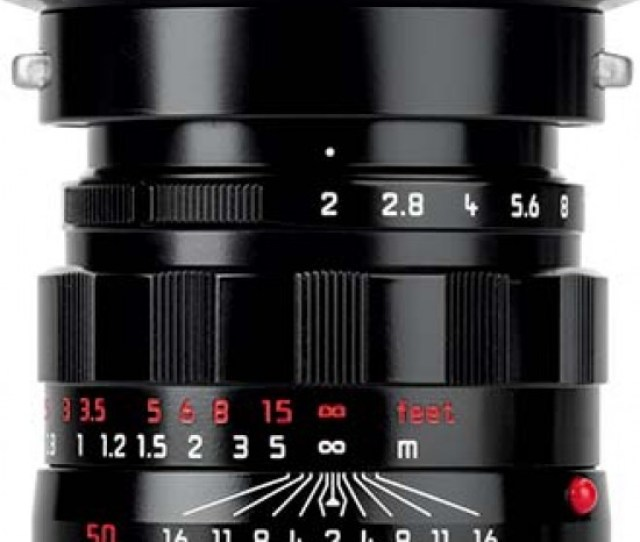 Launched To Celebrate The 50th Anniversary Of The International Leica Society Lhsa The Leica Apo Summicron M 50 Mm F 2 Asph Lhsa Special Edition Lens
