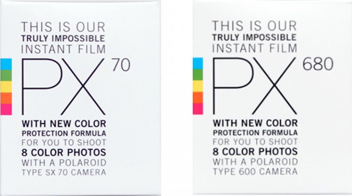 Impossible PX 70 and PX 680 Color Protection Instant Films