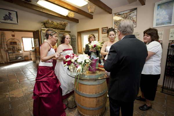 Winery Wedding - Albuquerque, New Mexico