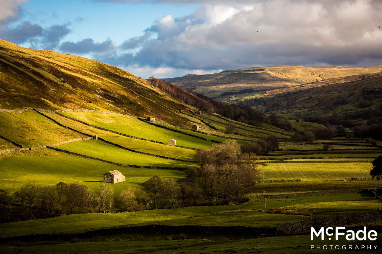 Swaledale  Valley of Barns and Waterfalls  McFade