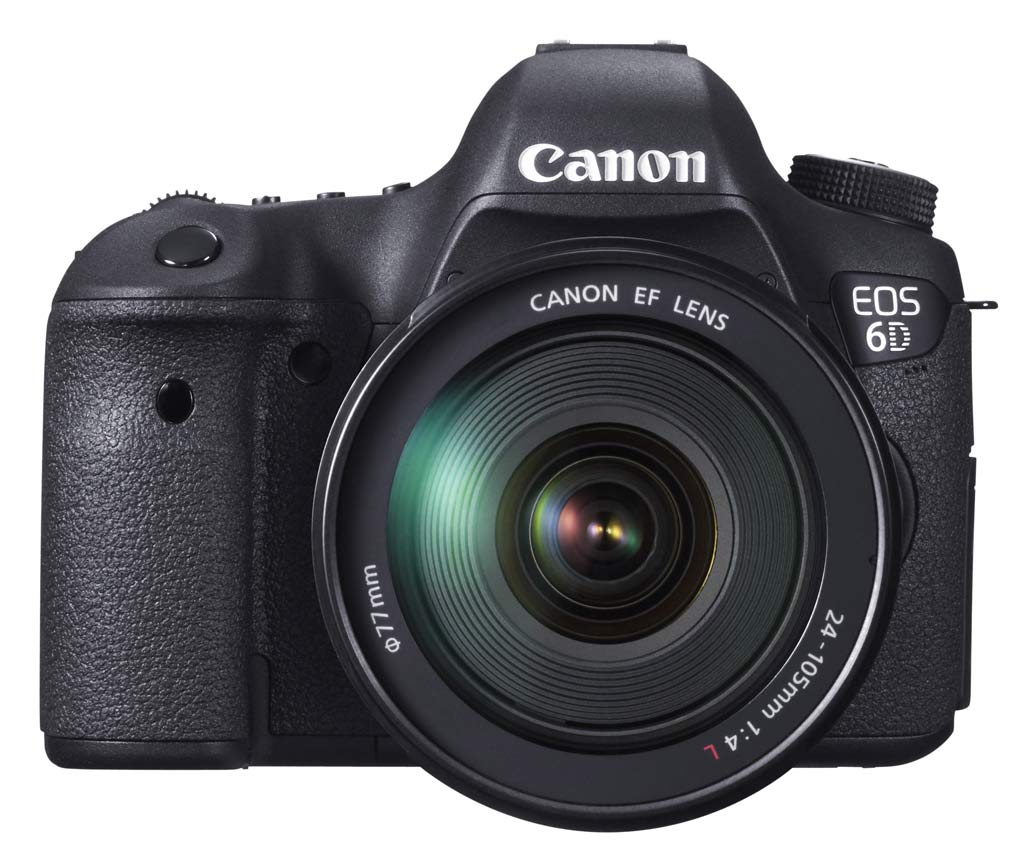 Canon EOS 6D : Full Frame compact DSLR, GPS and Wi-FI ...
