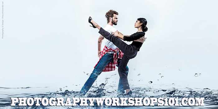 Lighting photography workshops in Los Angeles, CA