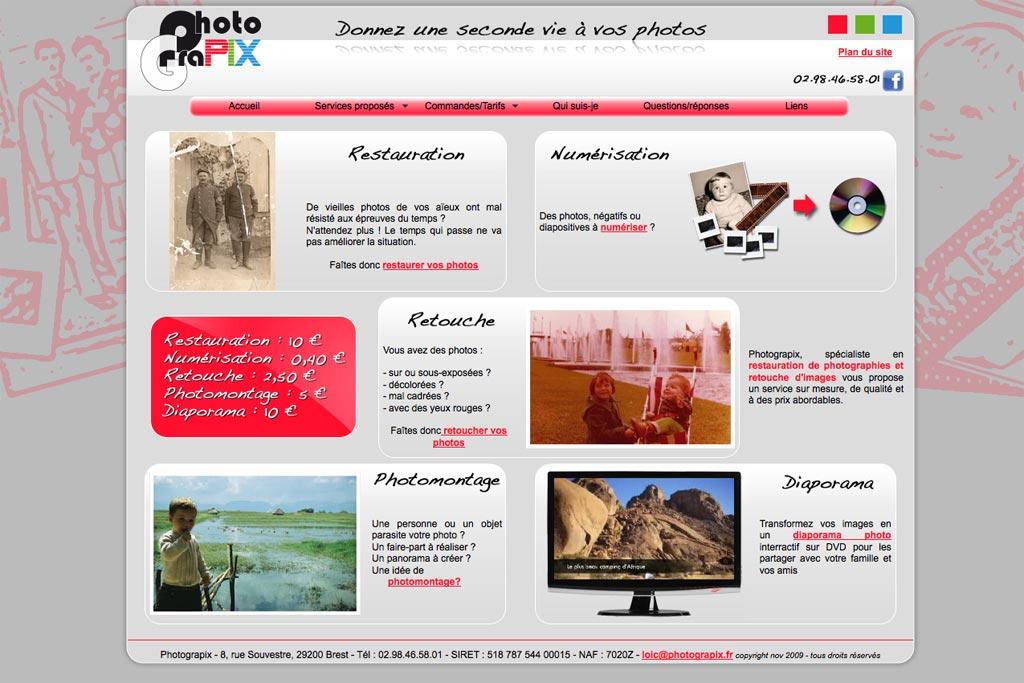 ancien site de Photograpix