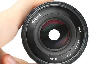 Meike 50mm f/1,7: objetivo barato full-frame para Canon EOS-R, Nikon Z, Sony y Fujifilm