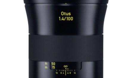 Zeiss anuncia su nuevo objetivo Otus 100mm f/1,4 para full-frames de Nikon y Canon