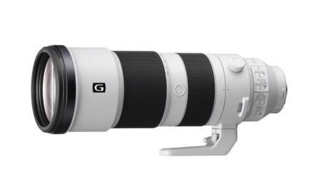 Sony anuncia dos teleobjetivos-pepino: 200-600mm f/5,6-6,3 G OSS y 600mm f/4 GM OSS