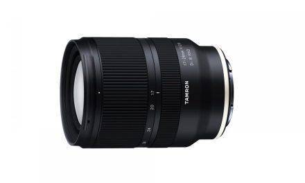 Tamron anuncia el nuevo objetivo 17-28mm f/2.8 DI III para montura Sony E