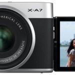 Nueva Fujifilm X-A7, con mejoras en el AF y las capacidades de vídeo