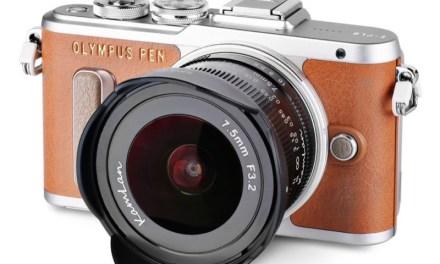 Kamlan presenta su objetivo 7,5mm f/3,2: un ojo de pez asequible para cámaras Micro 4/3