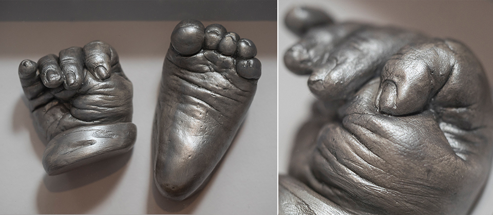 Castings: Baby 3D Casting Impressions Liverpool