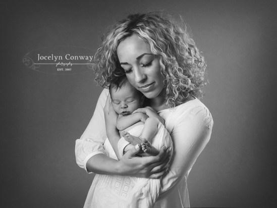 mummy and newborn baby