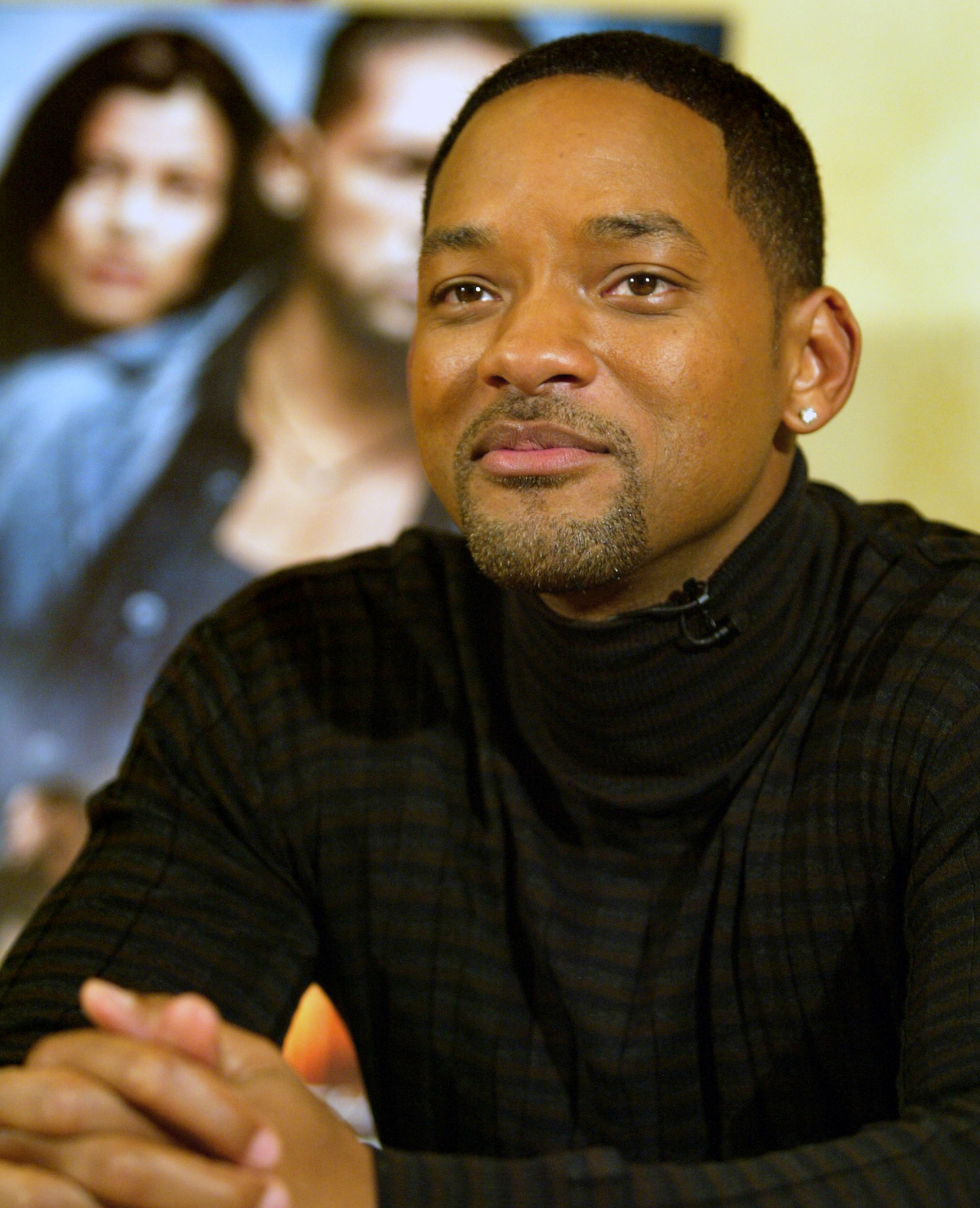 """American actor Will Smith speaks during an interview in Johannesburg, South Africa on Tuesday, Sept. 14, 2004. Two months after """"I, Robot,"""" his latest summer hit, opened in theaters across the United States, Smith is in South Africa for yet another gala premiere. Picture: Shayne Robinson"""