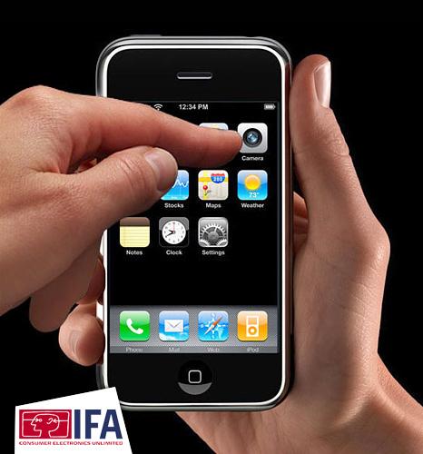Apple iPhone widgets service