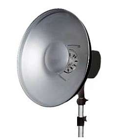 Beauty Dish - Loved by fashion photographers it directs a flattering soft light.