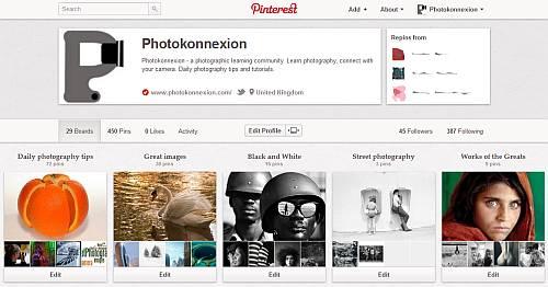 Photokonnexion Pinterest Account
