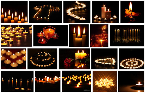 Patterns with candles
