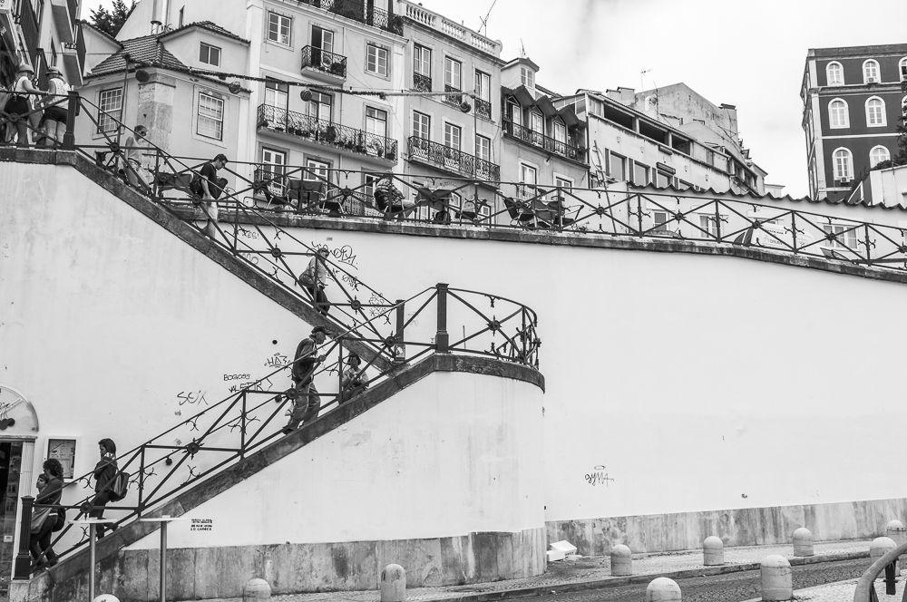 Lisbon Wall • After Escher