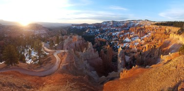 Panorama shot of Bryce Canyon NP, Utah