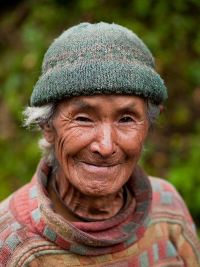 An older man in Sikkim, India