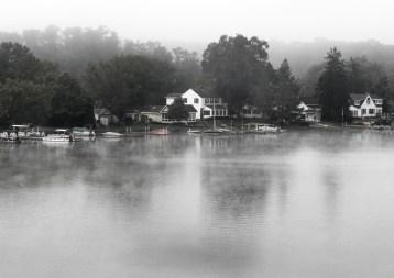 Foggy Morning by Debra Pruskowski