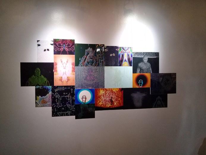 """Entities (Portraits)"" installation shot"