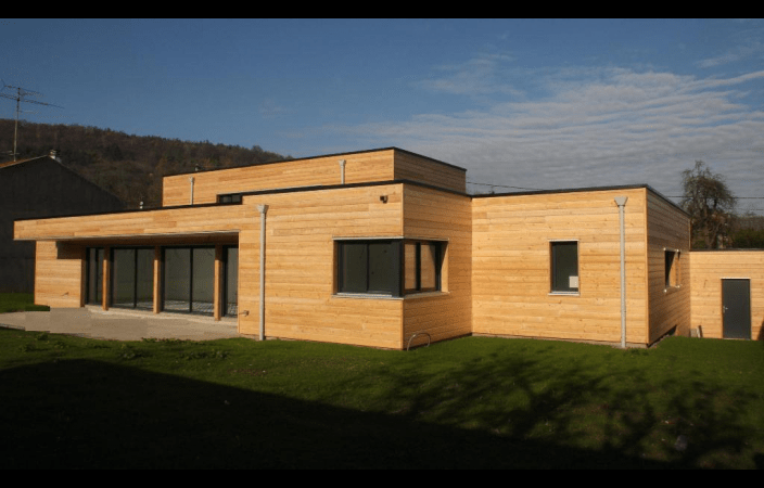 Awesome Maison Futuriste En Bois Gallery - Design Trends 2017 ...