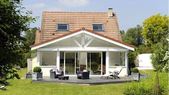 de maison avec veranda