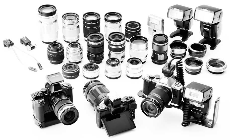 Olympus OM-D E-M5 — беззеркальная камера как DSLR