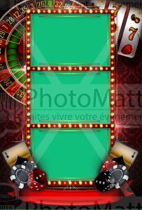 Thème photobooth borne photo selfie photomatt casino jeu cartes
