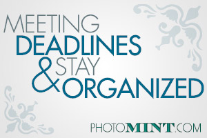 Meeting Deadlines & Stay Organized