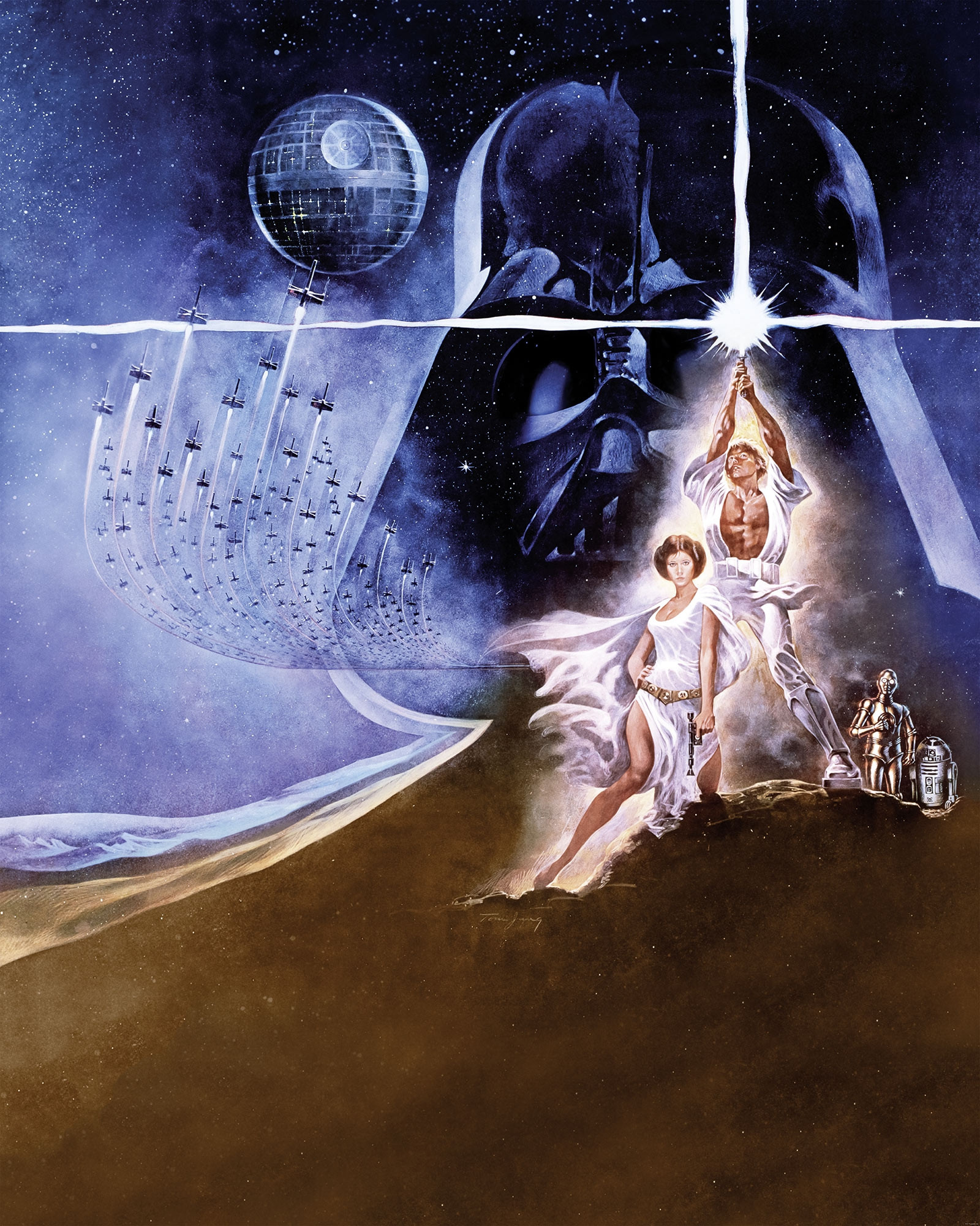 Nonwoven photomural Star Wars Poster Classic 2 from