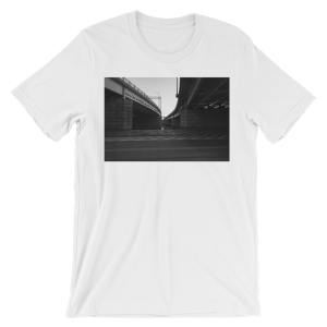 Where the Streets Have No Name by U2 - photo of Ohio Drive in Washington, DC by Carla Durham - Photomusicology - white unisex t-shirt