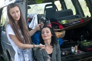 Simonetta makes up Monica