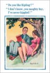Donald McGill_'Do you like Kipling'