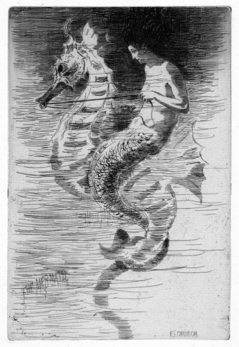 the mermaid by frederick stuart church