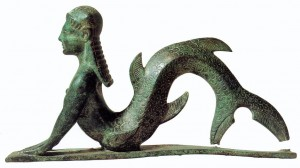 Etruscan Mermaid
