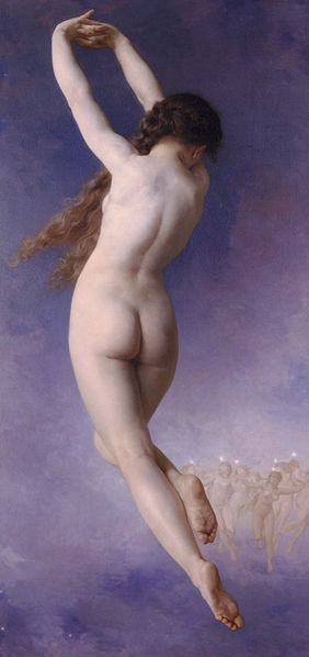 The Lost Pleiad 1884 by Bouguereau