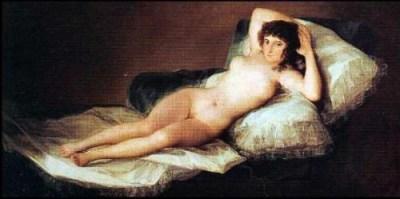 Maya Desnuda (1800 circa) Goya